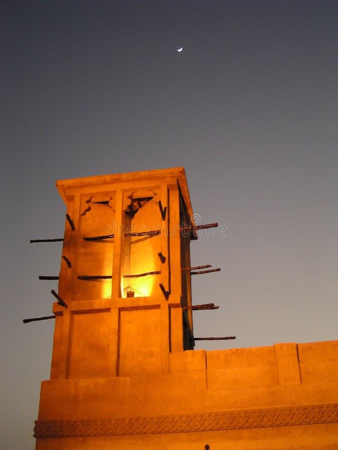 Tour 2 (Dubaï) De Vent Photographie stock libre de droits