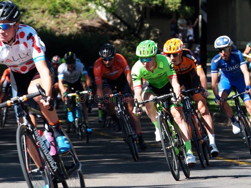 Tour Of Alberta Bike Race stock photography