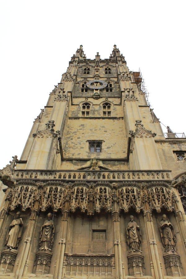 Tour Angleterre de cathédrale de Cantorbéry image stock