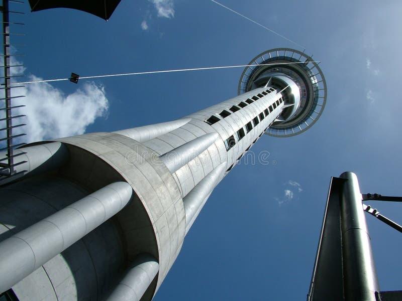 Tour Auckland de ciel photographie stock