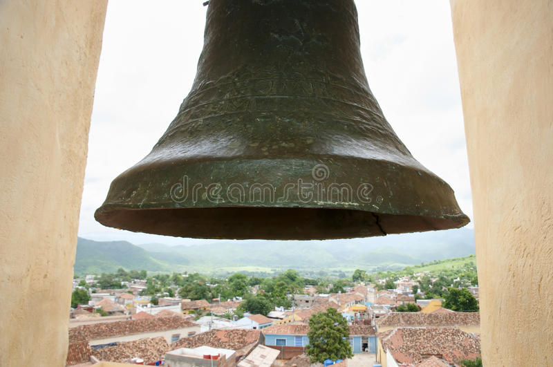 Tour Bell - Trinidad - Cuba photos stock