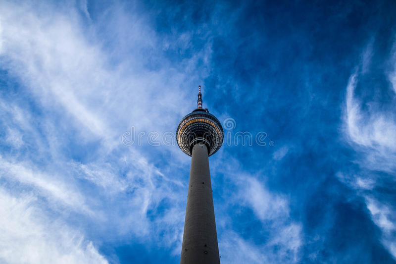 Tour Berlin de TV photographie stock