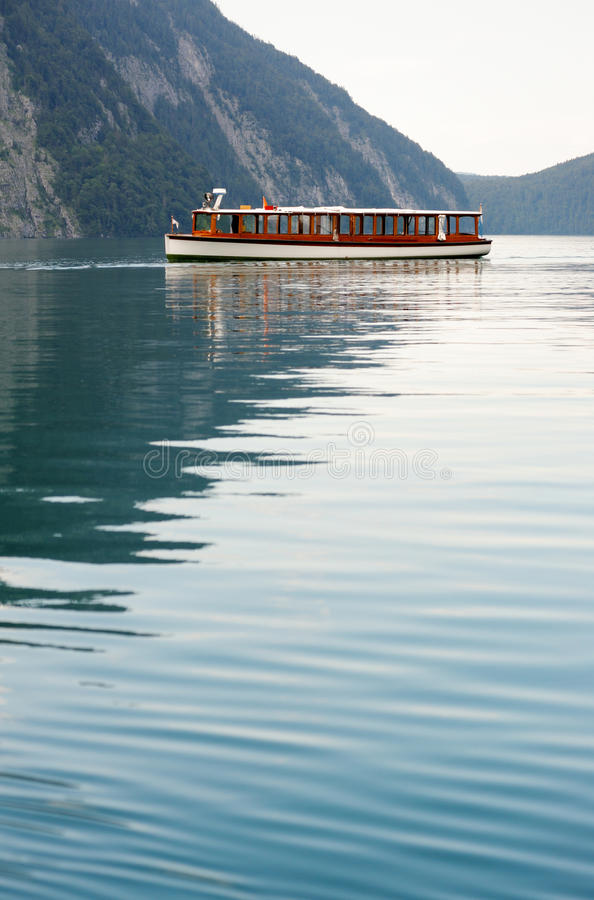 Download Tour Boat In Konigssee Lake Editorial Photo - Image: 23675291