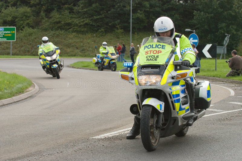 Download Tour Of Britain Cycle Race 2008 Editorial Stock Photo - Image of policeman, garmin: 6344558