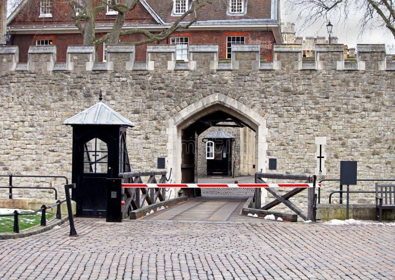 Tour de l'entrée de Londres photos libres de droits