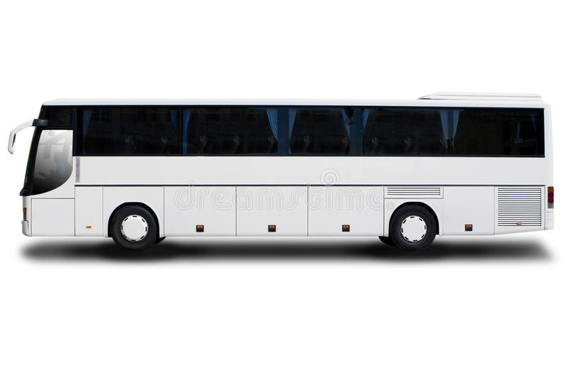 Download Tour Bus stock illustration. Image of vehicle, parked - 11342220