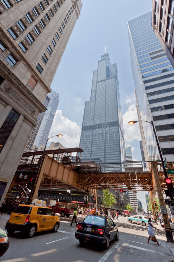 Tour Chicago de Willis images stock