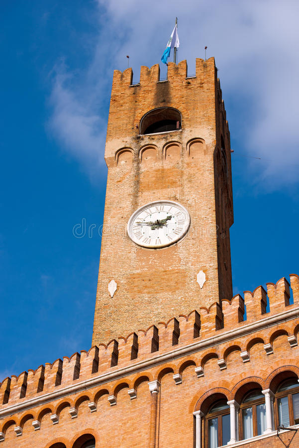 Tour civique - Trévise Italie photo libre de droits