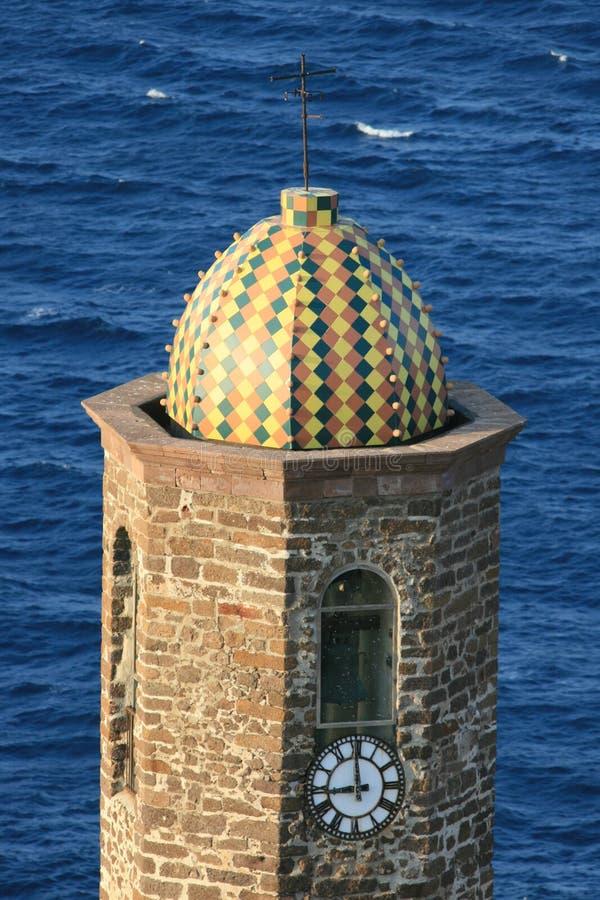 tour colorée de l'Italie de cloche photographie stock