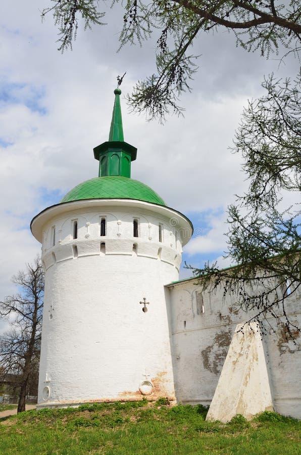 Tour défensive d'Aleksandrovskaya Sloboda Alexandrovsky Kremlin photos stock