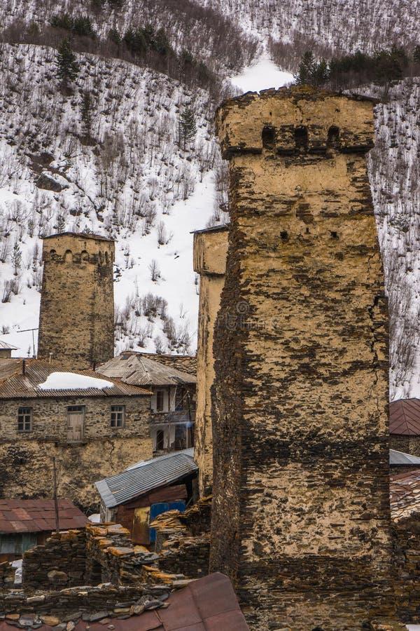Tour défensive d'architecture de forteresse images libres de droits