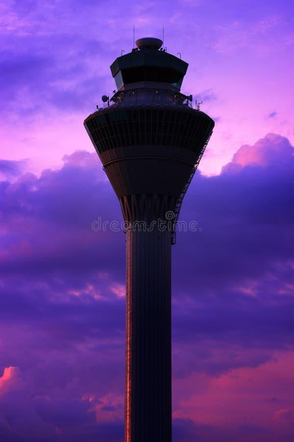 Tour d'aéroport photo stock