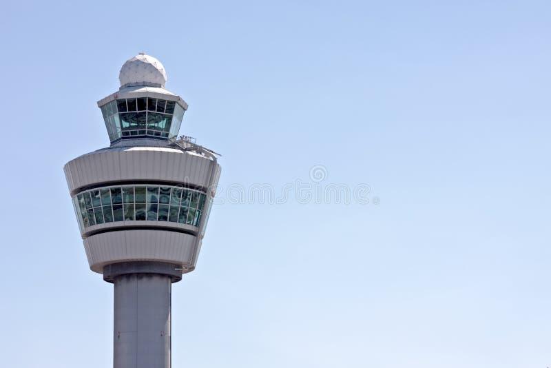 Tour d'aéroport en Hollandes image stock