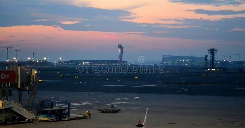 Tour d'aéroport international d'Istanbul images libres de droits