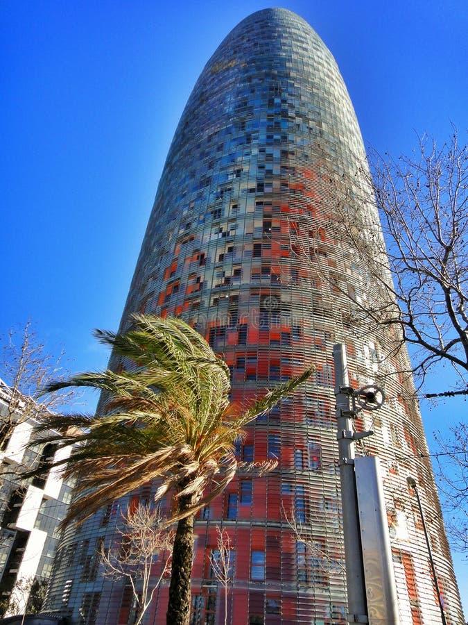 Download Tour D'Agbar Barcelone Espagne Photo stock - Image du catalonia, lumineux: 56487234