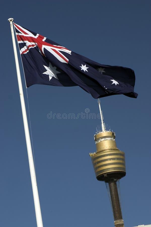 Tour d'ampère, Sydney photo libre de droits
