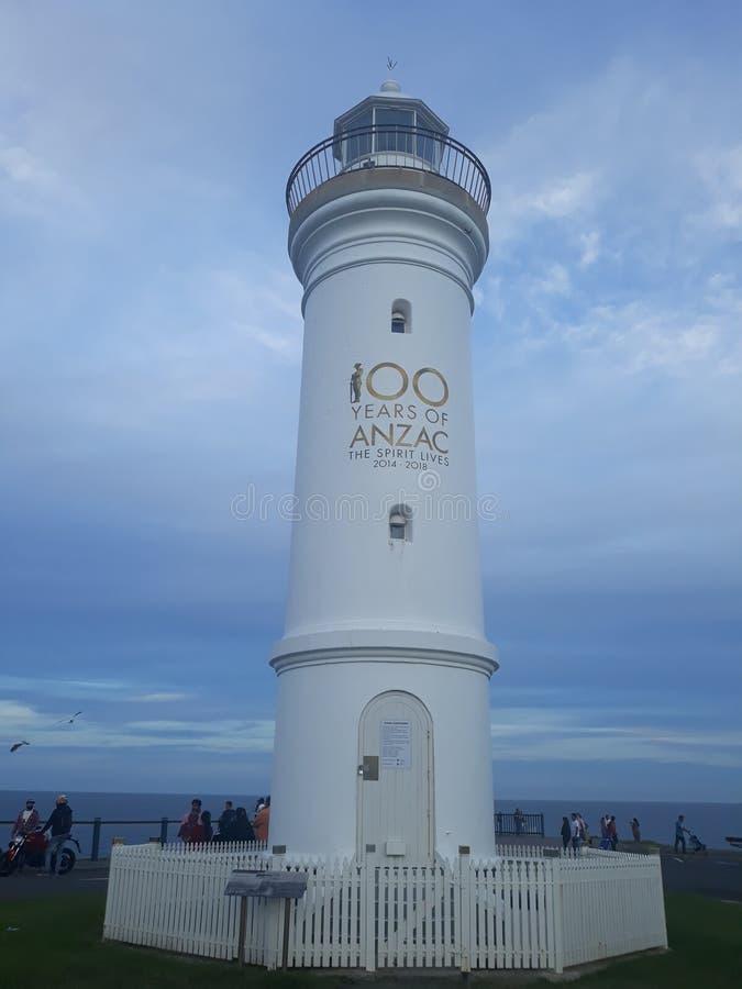 Tour d'Anzac à la plage de Kiama en Nouvelle-Galles du Sud, Australie images stock