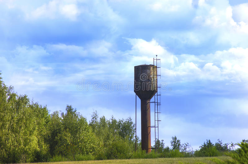 Tour d'eau photographie stock