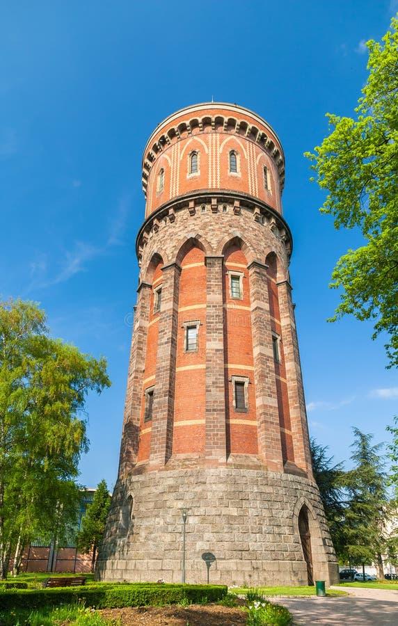 Tour d'eau de Colmar, Alsace, France photo libre de droits