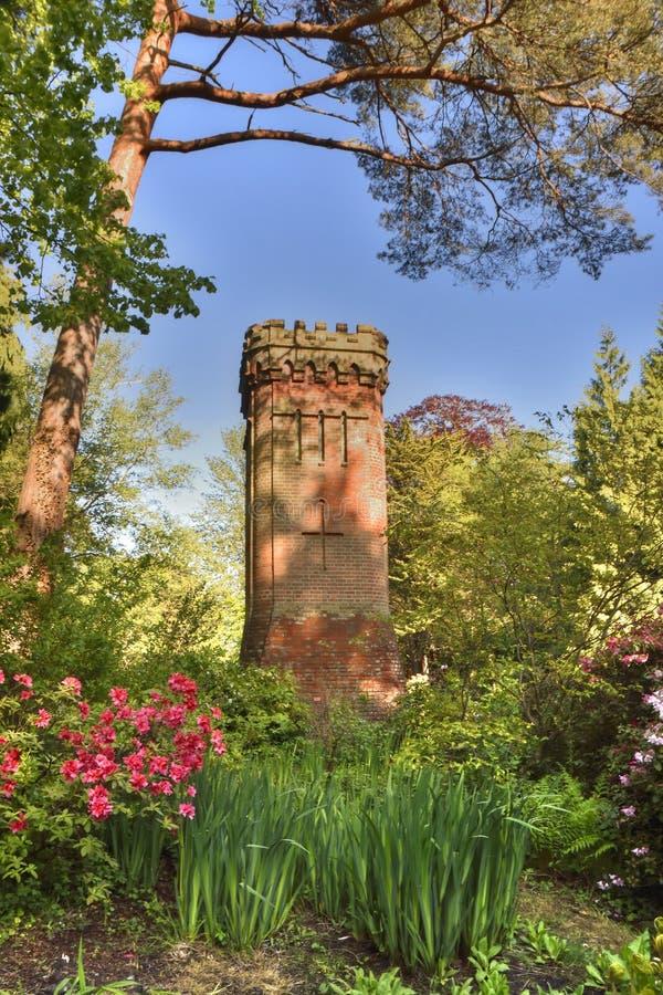 Tour d'eau historique de la ville des sud de l'Angleterre image libre de droits