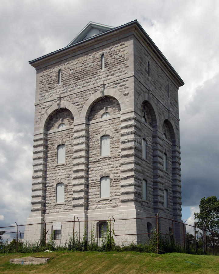 Tour d'eau, Kingston Penitentiary photos stock