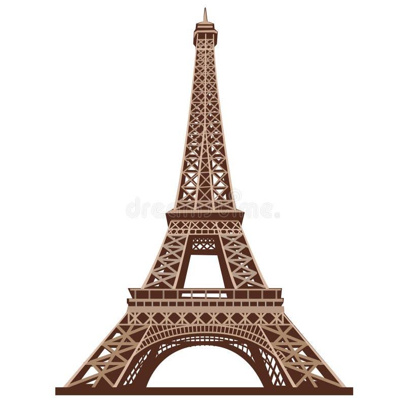 Tour d'Eifel illustration stock