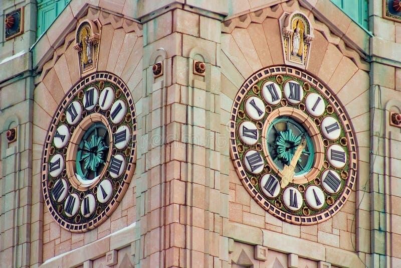 Tour d'horloge 1 photos libres de droits