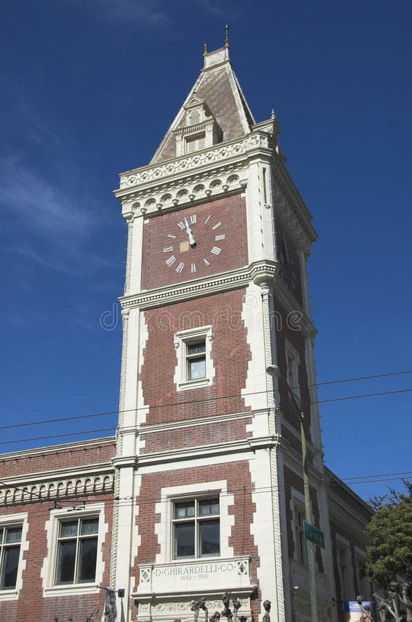 Tour d'horloge photo stock
