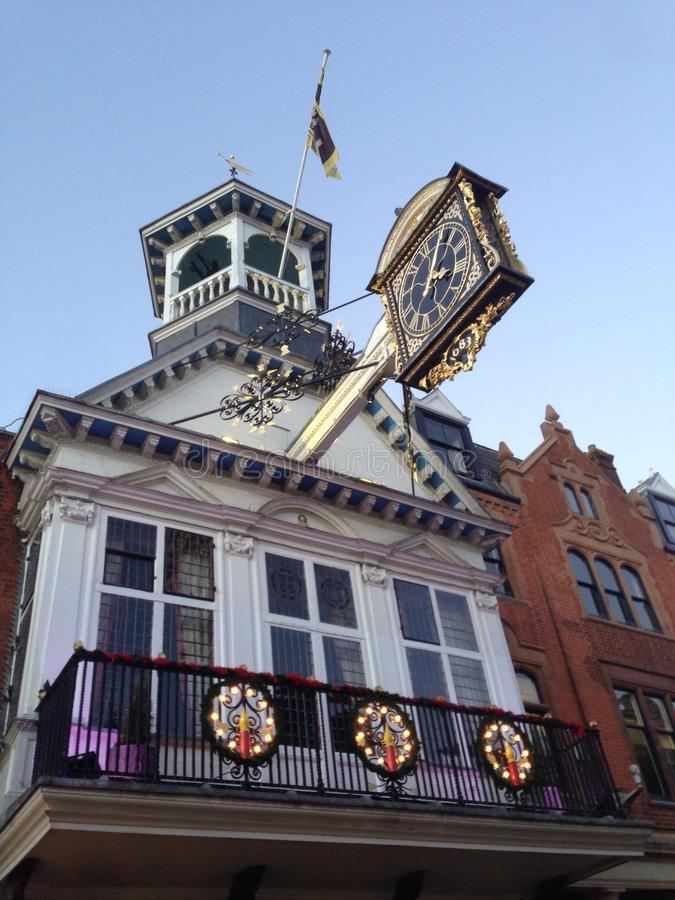 Tour d'horloge photos stock