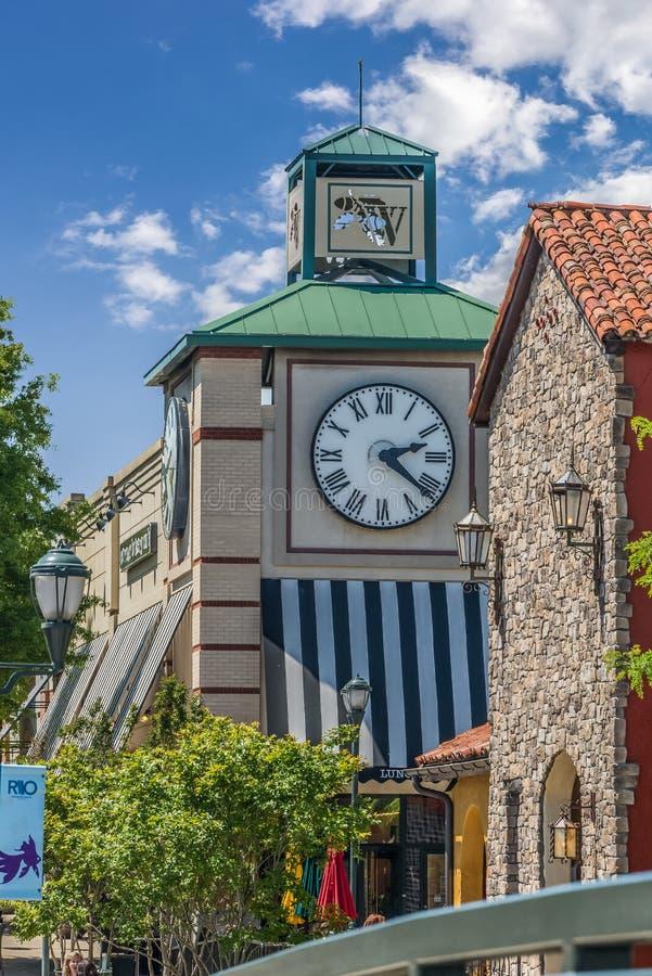 Tour d'horloge dans un devis dans le Maryland photo libre de droits