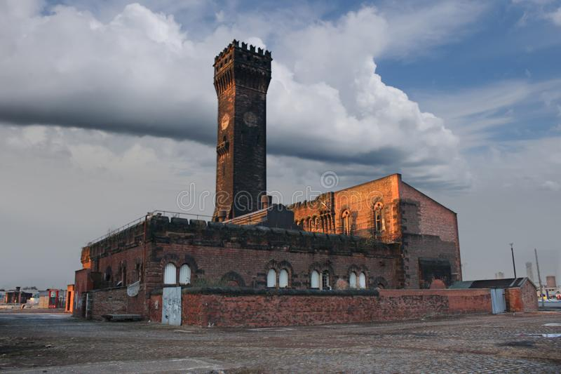 Tour d'horloge de Birkenhead images stock
