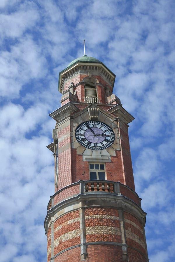 Tour d'horloge de bureau de poste de Launceston Tasmanie Australie images libres de droits