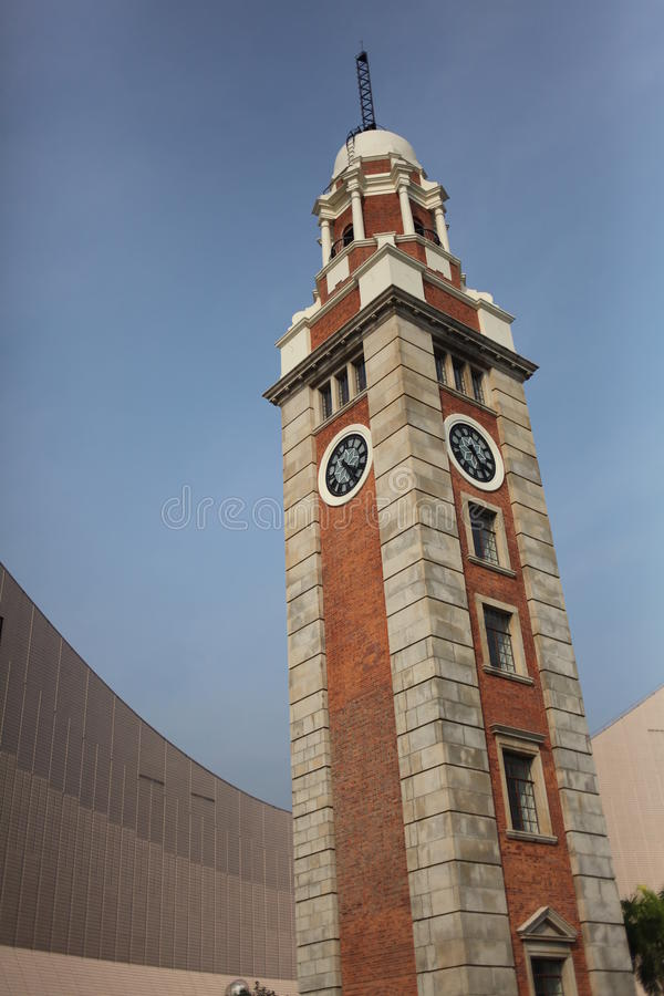 Tour d'horloge de Hong Kong photos stock