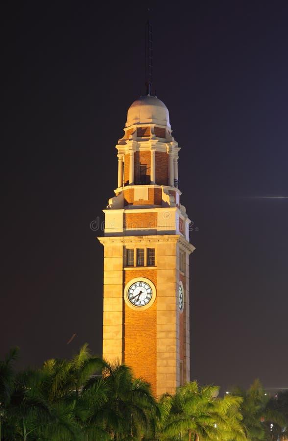 Tour d'horloge de Hong Kong image stock