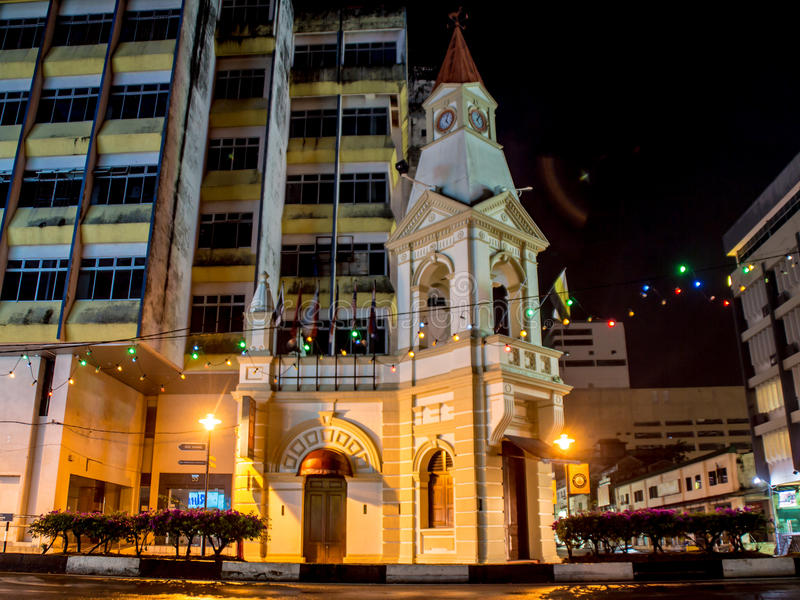 Tour d'horloge de Taiping Malaisie image stock