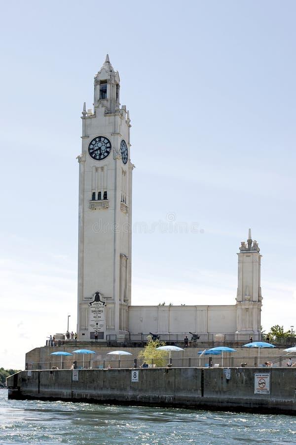 Tour d'horloge du Québec - de Montréal photos libres de droits