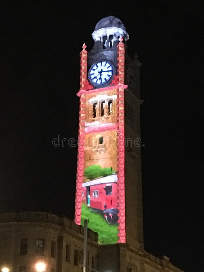 Tour d'horloge image stock