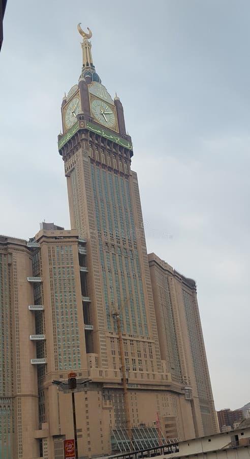 Tour d'horloge Makkah image stock