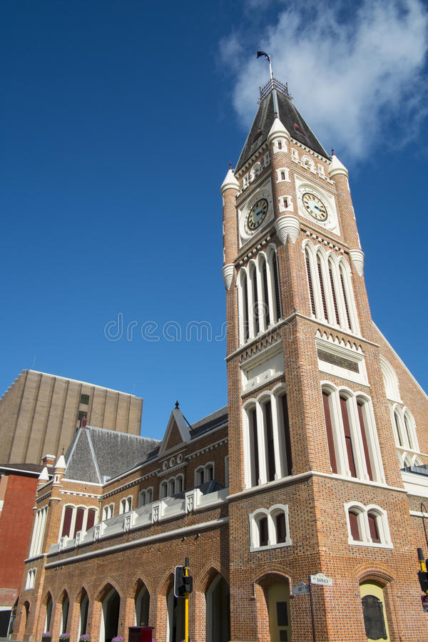 Tour d'horloge, Perth, Australie photos stock