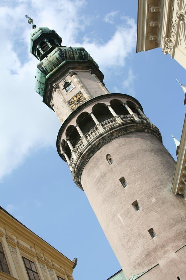 Tour d'incendie - Sopron, Hongrie image libre de droits