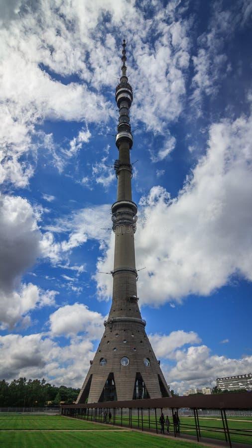 Tour d'Ostankino photographie stock libre de droits