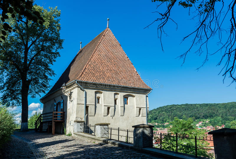 Download Tour dans Sighisoara photo stock. Image du pays, enrichi - 76077300