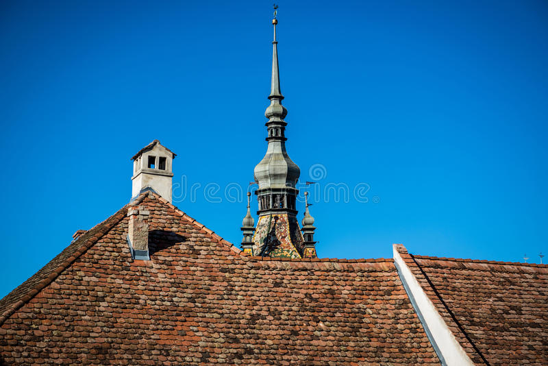 Download Tour dans Sighisoara photo stock. Image du transylvania - 76077730