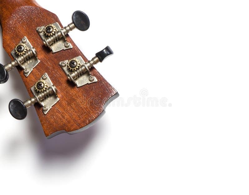 Tour de accord principal de bouton de guitare photo stock