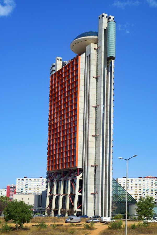Tour de Barcelone de collection de NH, dans Hospitalet, l'Espagne photo stock