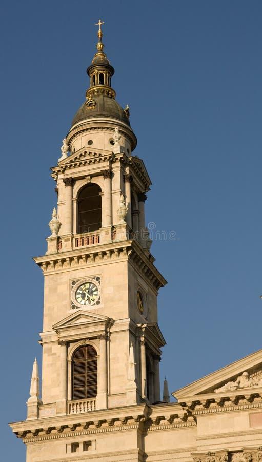 Tour de basilique à Budapest photos stock