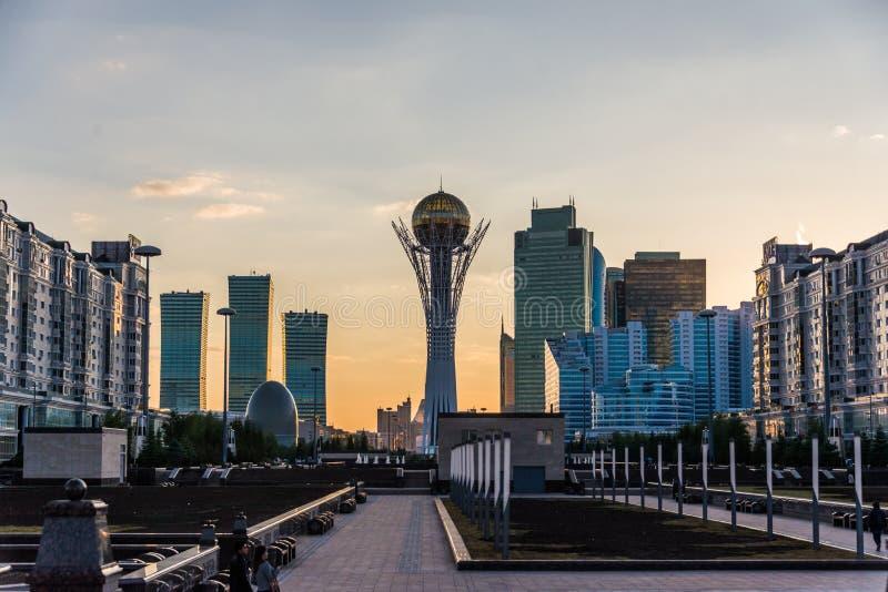 Tour de Bayterek à Astana Kazakhstan photographie stock
