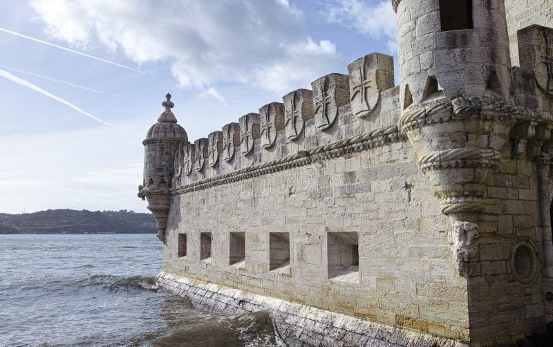 Tour de Belem sur le Tage, Belem, Lisbonne, Portugal photographie stock