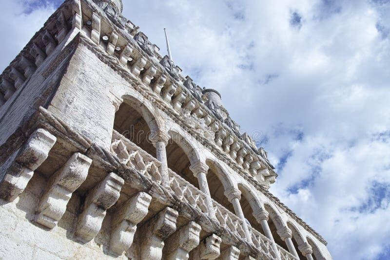 Tour de Belem sur le Tage, Belem, Lisbonne, Portugal images libres de droits
