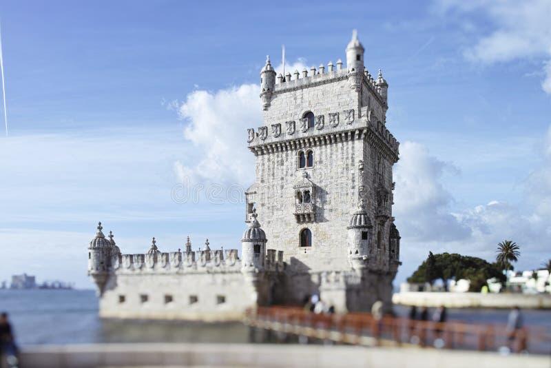 Tour de Belem sur le Tage, Belem, Lisbonne, Portugal photo stock
